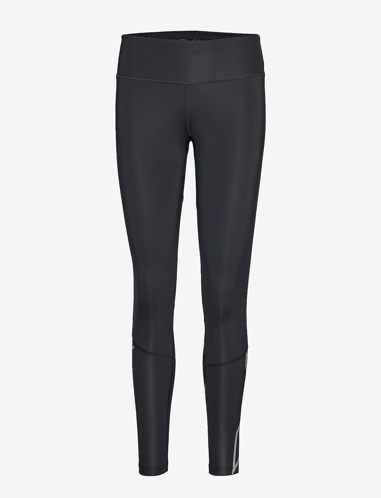 2XU - Run MidRise Comp Tight w/Back St-W - kompressiotrikoot - black/silver reflective