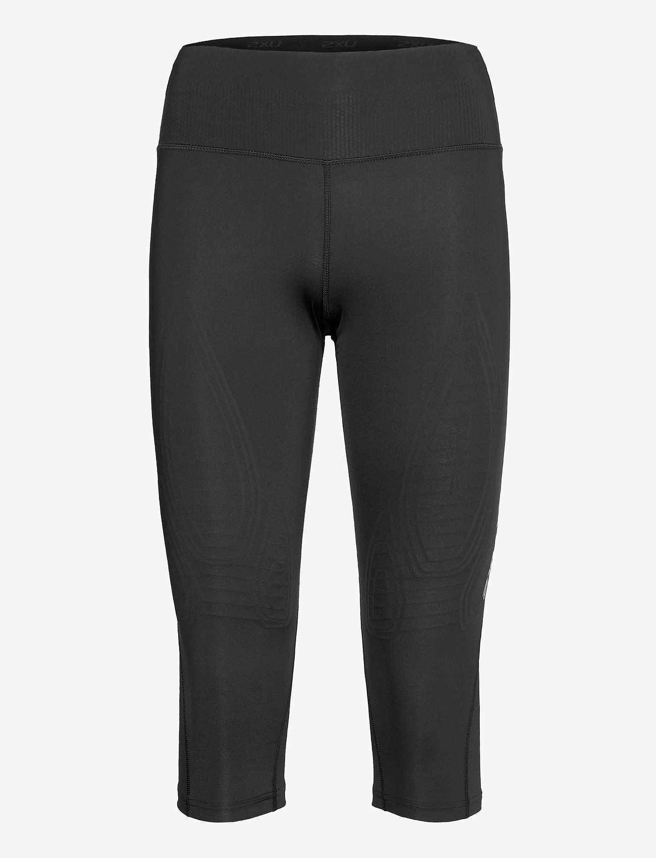 2XU - FORCE MID-RISE COMPRESSION 3/ - sportleggings - black/gold - 0