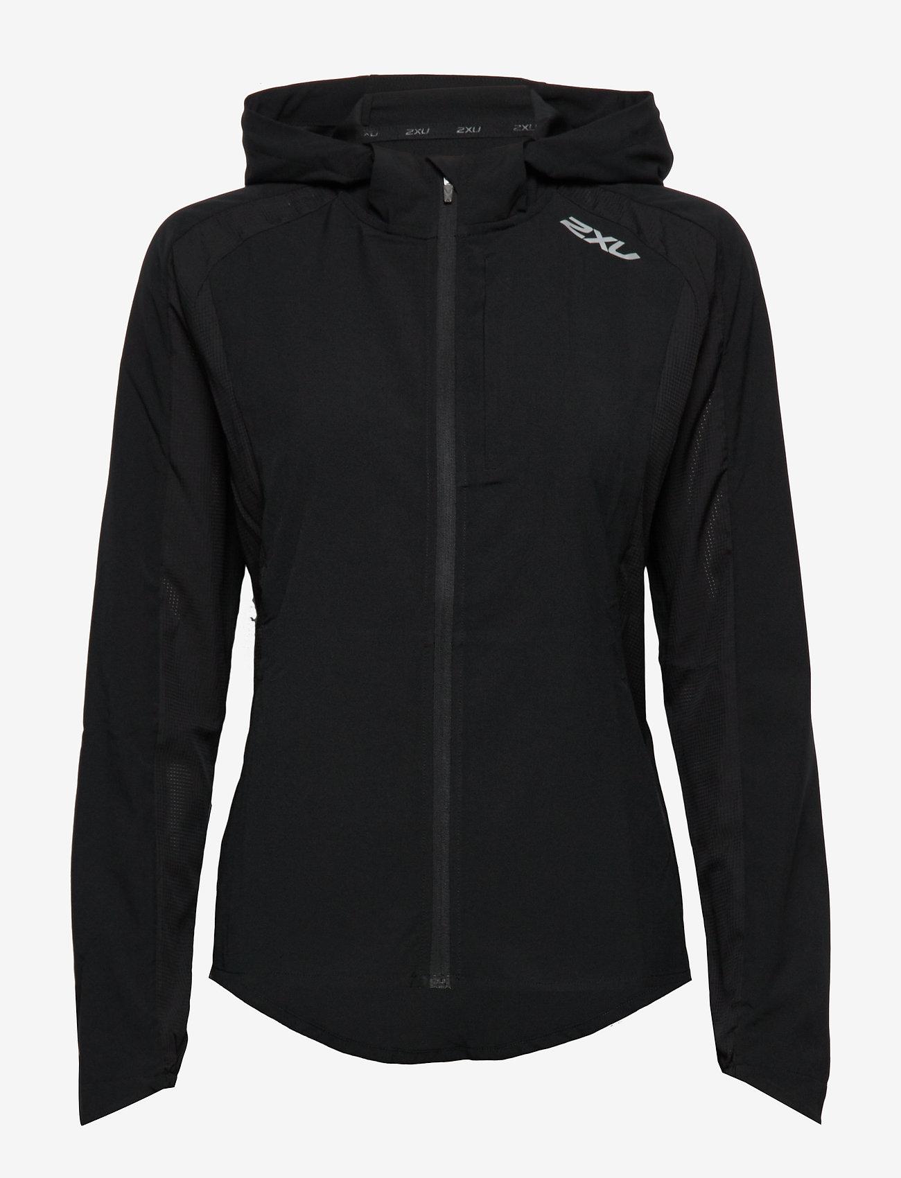 2XU - XVENT Run Jacket-W - sports jackets - black/silver reflective