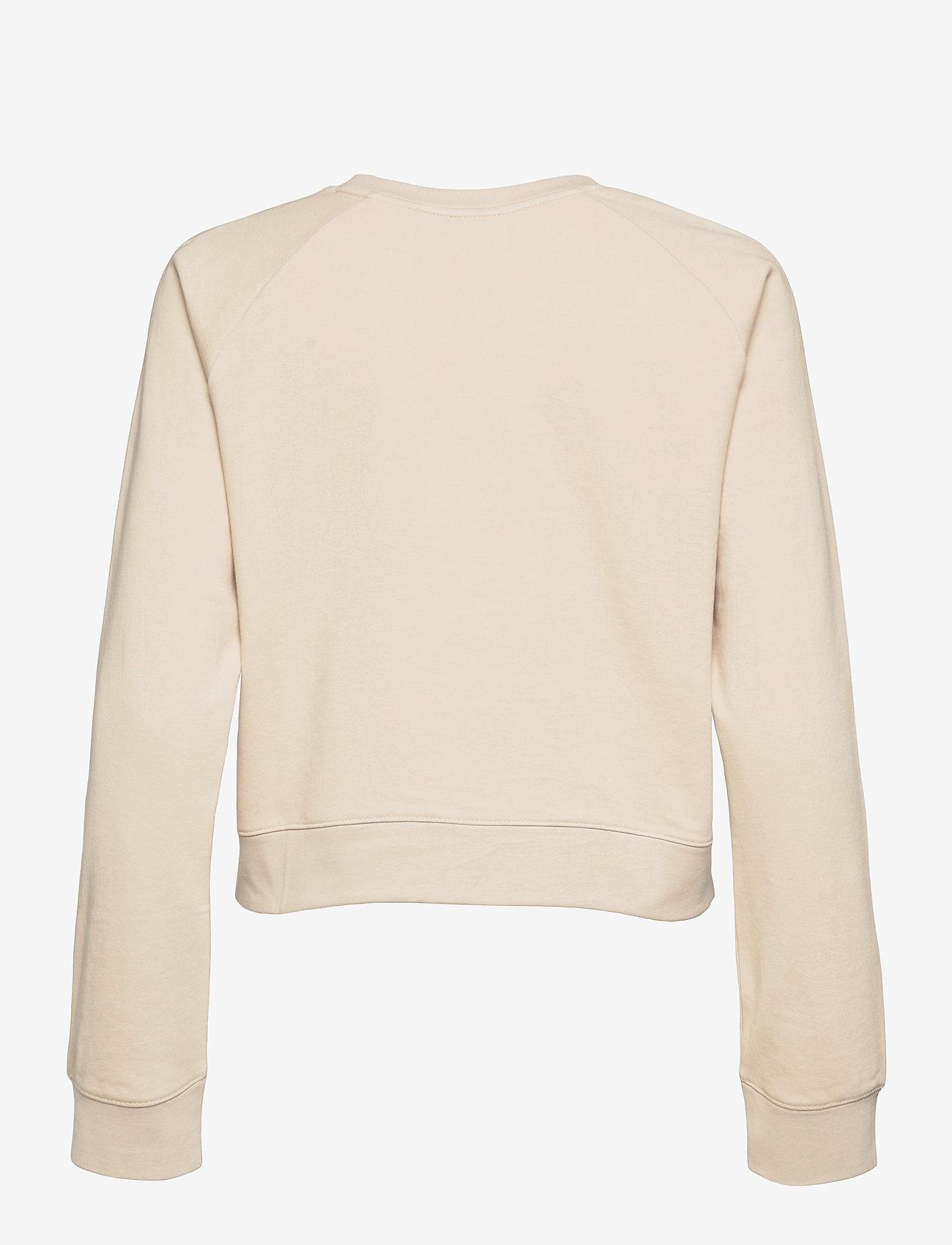 2XU - FORM CROP CREW - sweatshirts - oatmeal/oatmeal - 1
