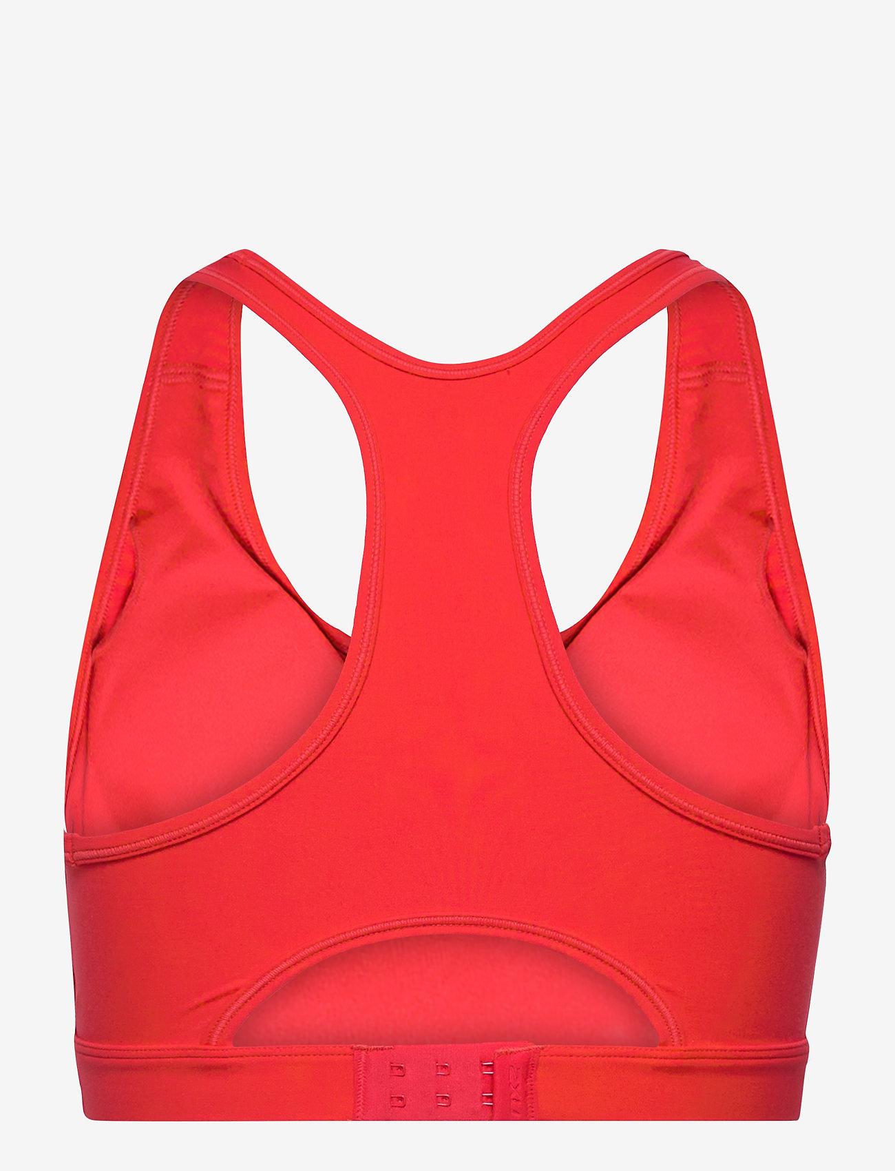 2XU - MOTION RACERBACK CROP - sport bras: medium - high risk red/white - 1