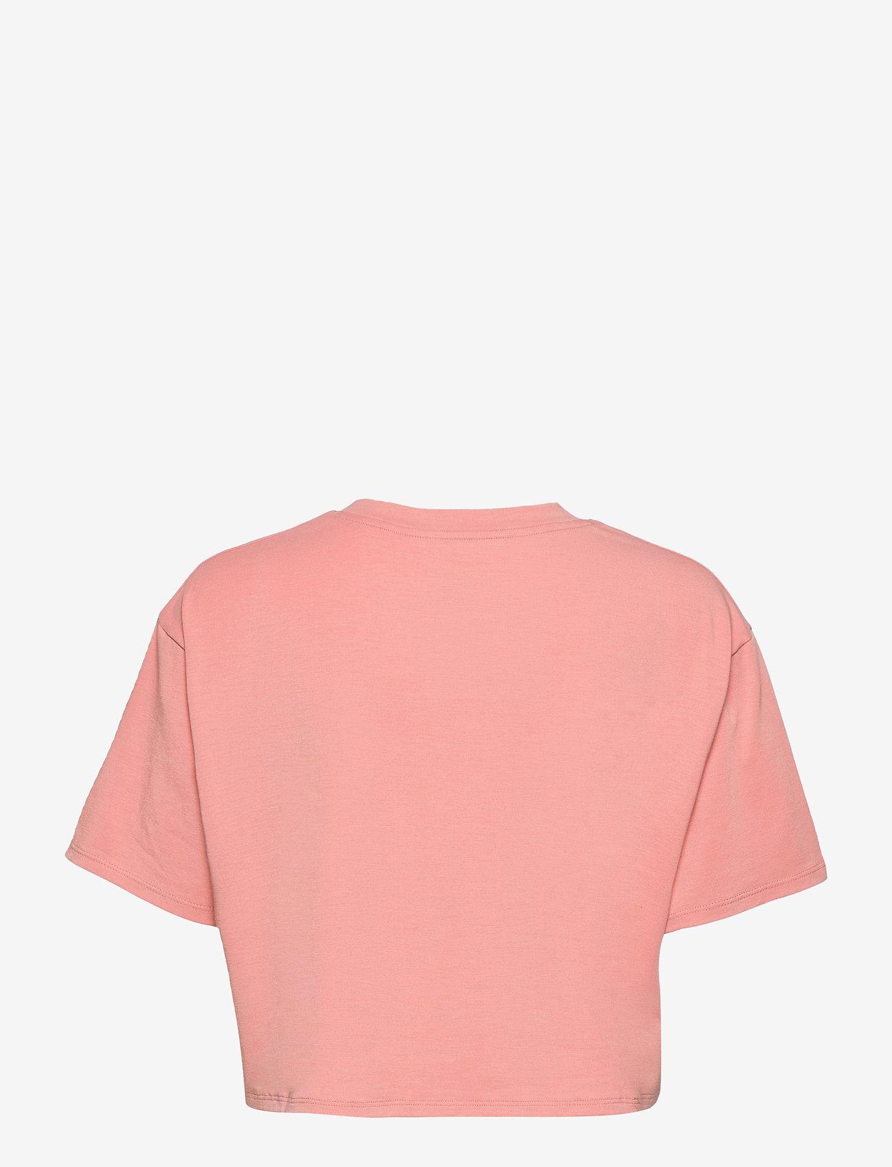 2XU - FORM CROP TEE - navel shirts - rosette/sherbert - 1