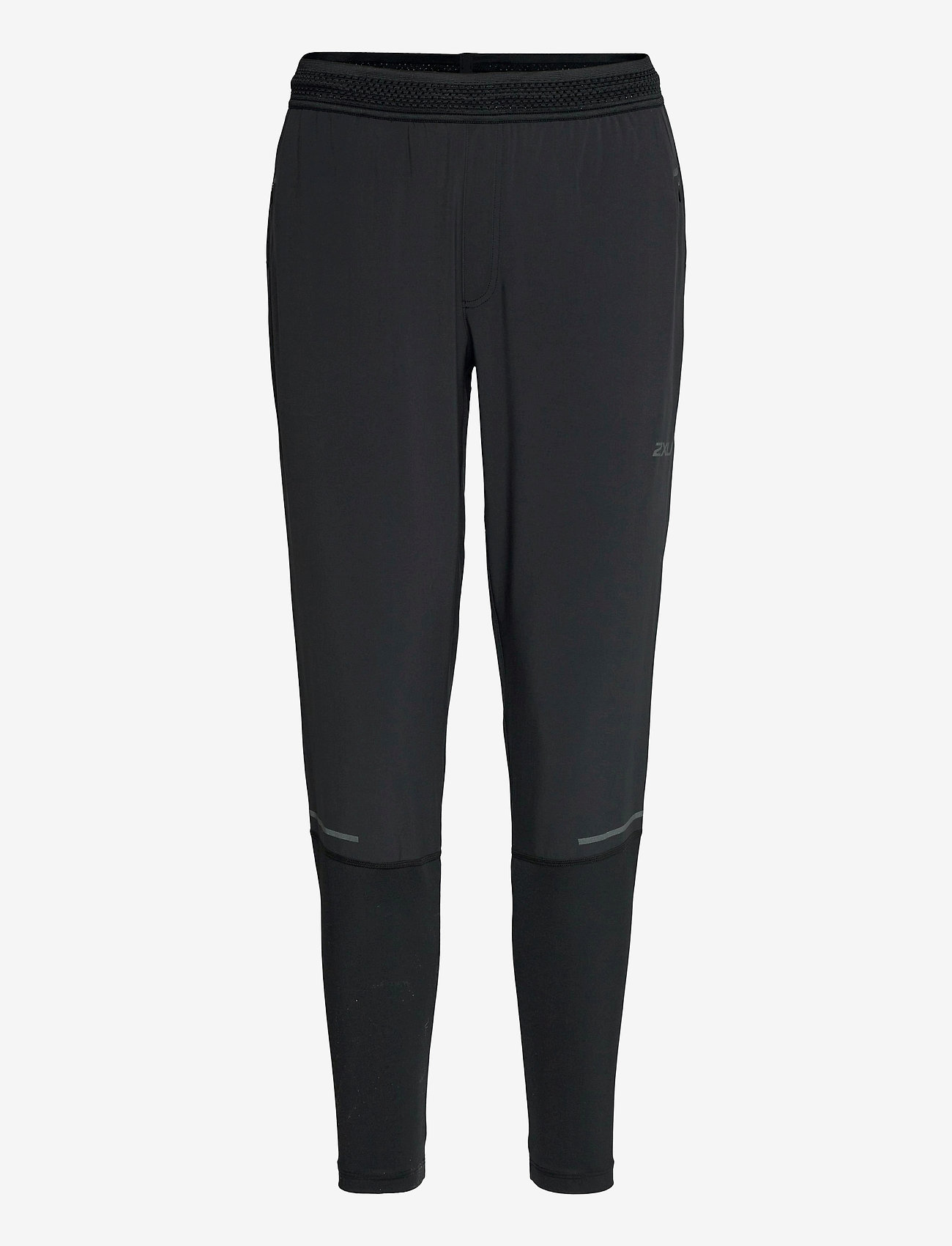 2XU - LIGHT SPEED JOGGER - sportbroeken - black/ black reflective - 0