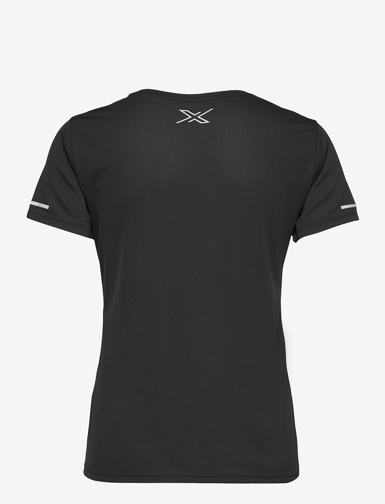 2XU - AERO TEE - t-shirts - black/silver reflective - 1