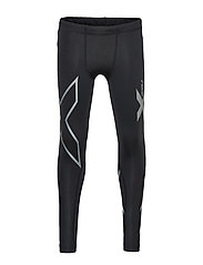 Boys Compression Tights-Youth - BLACK/BLACK