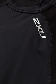 2XU - Compression S/S Top-M - t-shirts - black/silver - 3