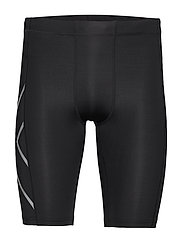 CORE COMPRESSION SHORTS - BLACK/SILVER