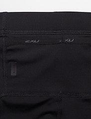 2XU - Run Comp Tights w/Back Storage-M - running & training tights - black/black reflective - 3