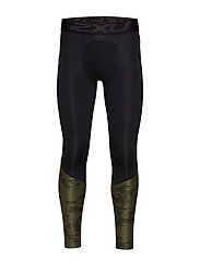 Accel Comp Tight w Storage-M - BLACK/LINEAR CAMO KHAKI