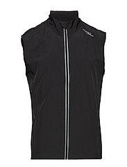 X-VENT Run Vest-M - BLACK/BLACK