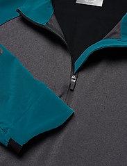 2XU - GHST 1/4 Zip Pullover-M - overdele - corsair/black marle - 3