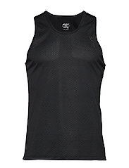 GHST Singlet-M - TEXTURED MESH/CHARCOAL