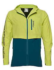 GHST Woven 2 In 1 Jacket-M - WILD LIME/CORSAIR