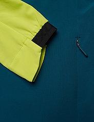 2XU - GHST Woven 2 In 1 Jacket-M - træningsjakker - wild lime/corsair - 3