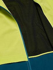 2XU - GHST Woven 2 In 1 Jacket-M - træningsjakker - wild lime/corsair - 4
