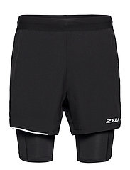 XVENT 2-in-1 5 Inch Short-M - BLACK/SILVER REFLECTIVE