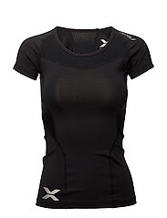 Compression S/S Top-W - BLACK/BLACK