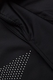 2XU - MOTION MID-RISE COMPRESSION T - sportleggings - black/dotted reflective logo - 4