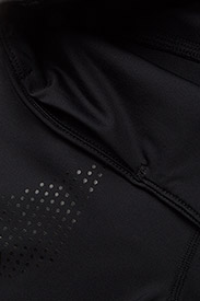 2XU - MOTION MID-RISE COMPRESSION T - sportleggings - black/dotted black logo - 3