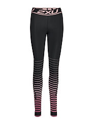 POWER RECOVERY Comp Tights-W - BLACK/ZEPHYR