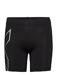CORE COMPRESSION 5 INCH SHORT - BLACK/SILVER