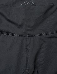 2XU - Run MidRise Comp Tight w/Back St-W - kompressiotrikoot - black/silver reflective - 3
