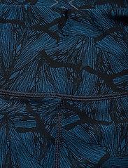 2XU - Print Mid-Rise Comp Tights-W - sportleggings - butterfly effect poseidon/nero - 2