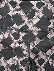 2XU - PrintFitnMidRiseComp Tights-W - compression tights - textured blossom check/wht - 2