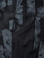 2XU - Print MidRise Pocket3/4Comp-W - compression tights - geo stripe/black - 2