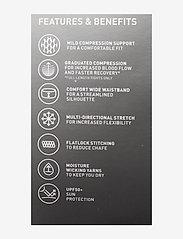 2XU - FORM SPLICED HI-RISE COMPRESS - sportleggings - instinct/rosette - 4