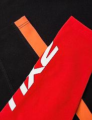 2XU - FORM BLOCK HI-RISE COMPRESSIO - sportleggings - black/high risk red - 7