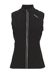 X-VENT Run Vest-W - BLACK/BLACK
