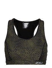 X-VENT Crop-W - REVERSE MESH/OLIVE BRANCH