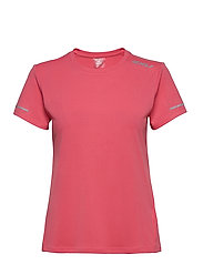 XVENT G2 S/S Tee-W - PINK LIFT/SILVER REFLECTIVE