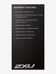 2XU - BREEZE MESH HI-RISE TIGHTS - sportleggings - black/black - 5