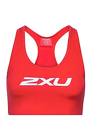 MOTION RACERBACK CROP - HIGH RISK RED/WHITE