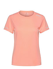 AERO TEE - POP CORAL/WHITE REFLECTIVE
