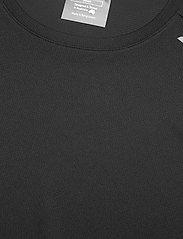 2XU - AERO TEE - t-shirts - black/silver reflective - 2