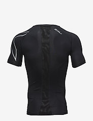 2XU - Compression S/S Top-M - t-shirts - black/silver - 1