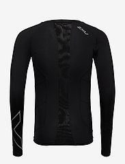 2XU - Compression L/S Top-M - bluzki z długim rękawem - black/silver - 1