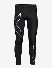 2XU - CORE COMPRESSION TIGHTS - løbe- og træningstights - black/silver - 0
