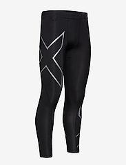2XU - CORE COMPRESSION TIGHTS - løbe- og træningstights - black/silver - 3