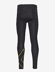 2XU - LIGHT SPEED COMPRESSION TIGHT - løbe- og træningstights - black/gold reflective - 1