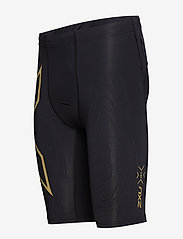 2XU - LIGHT SPEED COMPRESSION SHORT - trainingsshorts - black/gold reflective - 2