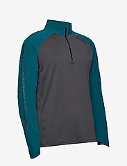 2XU - GHST 1/4 Zip Pullover-M - overdele - corsair/black marle - 2