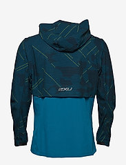2XU - GHST Woven 2 In 1 Jacket-M - training jackets - linear camo large/black - 1
