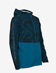 2XU - GHST Woven 2 In 1 Jacket-M - training jackets - linear camo large/black - 7