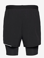2XU - XVENT 2-in-1 5 Inch Short-M - trainingsshorts - black/silver reflective - 1