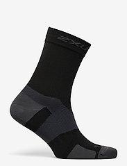 2XU - VECTR ULTRALIGHT CREW SOCKS - kousen - black/titanium - 1