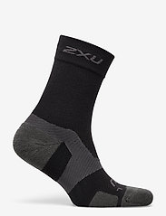 2XU - VECTR MERINO LIGHT CUSHION CR - kousen - black/titanium - 1